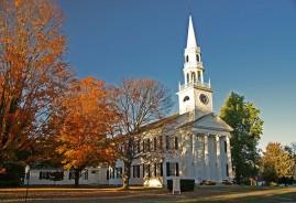 Bantam Pizza   Bantam, Litchfield   First Congregational Church Litchfield, CT