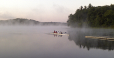 Bantam Pizza | Bantam, Litchfield | Rowing at Bantam Lake